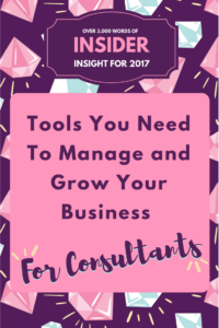 Tools to manage and grow your consulting business