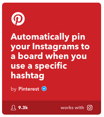 Instagram to Pinterest